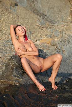 Glamorous Cecelia Wear Her Sexy Pink Bikini  12