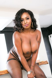 Chubby Ebony Babe Layton Benton Gets Nailed 09