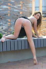 Ruzanna A Stips In Public Places 11
