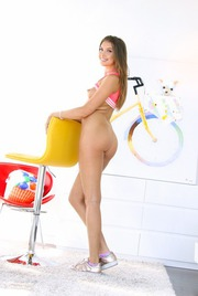 Round Assed Elena Koshka Undressing And Spreading 07