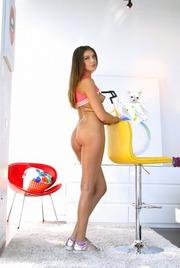 Round Assed Elena Koshka Undressing And Spreading 09