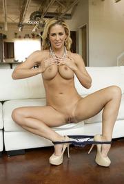 Busty Blonde MILF Cherie DeVille Gets Nude 11