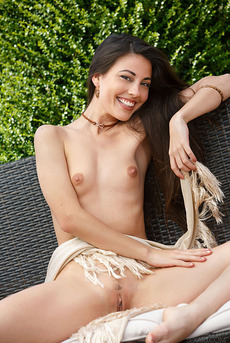 Long Brown Haired And Petit Bodied Lorena B 11