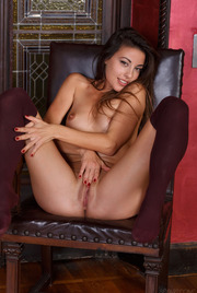Hot Spanish sex kitten Lorena B looks on fire with sexual desire 15
