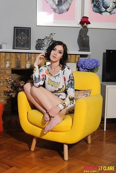 Summer St Claire Teasing In A Chair 01