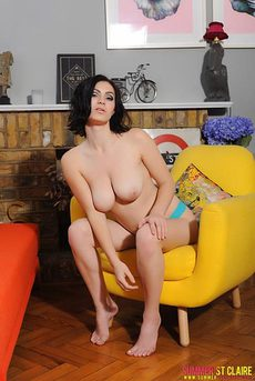 Summer St Claire Teasing In A Chair 12