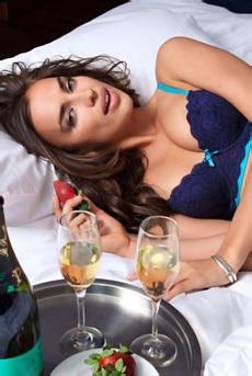Irina Shayk In Sexy Lingerie