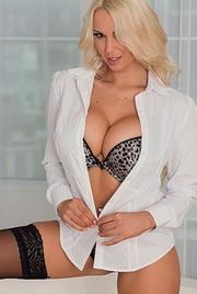 Busty Blonde Pornstar Cara Brett