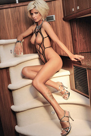 Svetlana Vasileva On The Boat