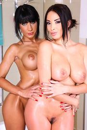 Two Busty Lesbians