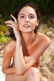 Petite, vivacious Italian brunette Sade Mare