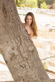 Kimmy Granger Plays With A Dildo Outside 00